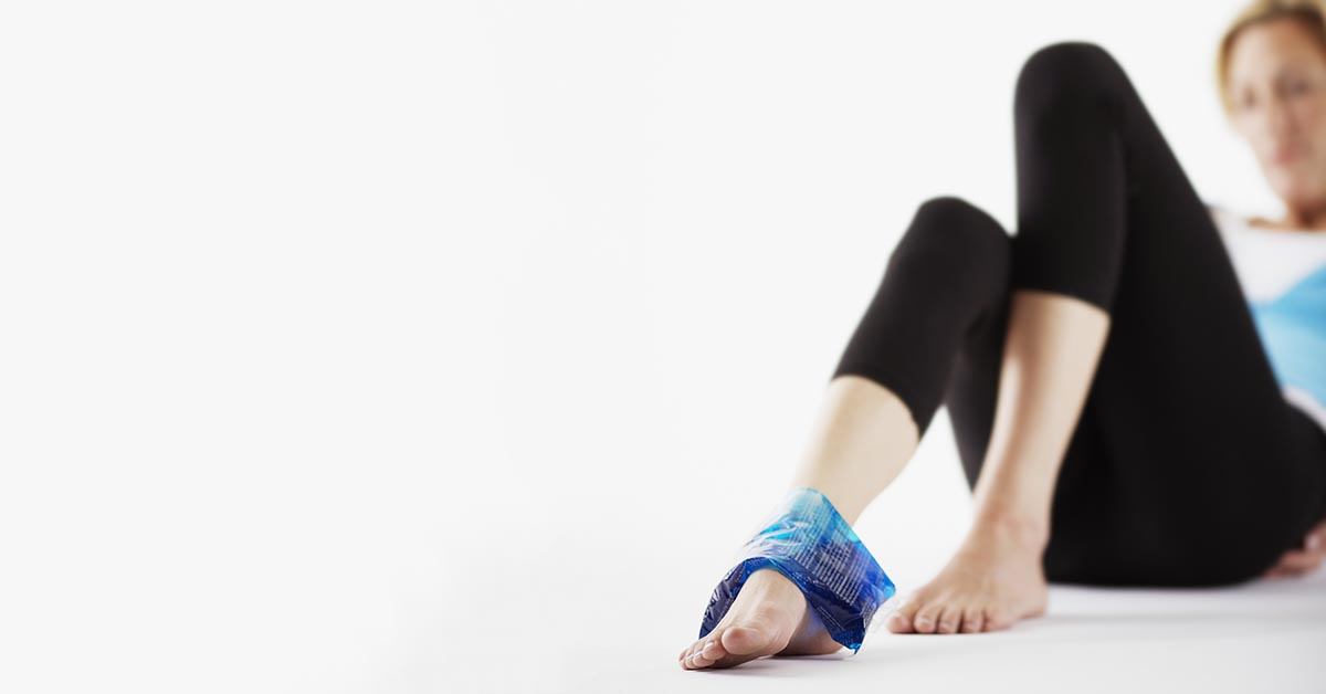 Woburn & Chelmsford, MA natural ankle sprain treatment